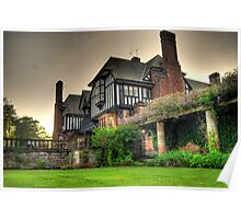 HDR Manor House Poster