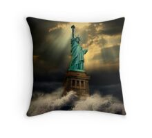 It's the end of the world as we know it Throw Pillow