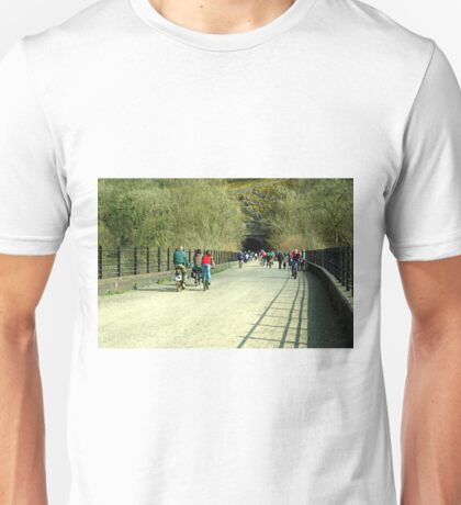 Monsal Trail Over the Headstone Viaduct Unisex T-Shirt