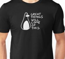 Motivational Penguin Unisex T-Shirt