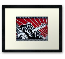 The Golden Age Of The Sardines Framed Print