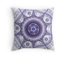 Fractal Design 6 Throw Pillow