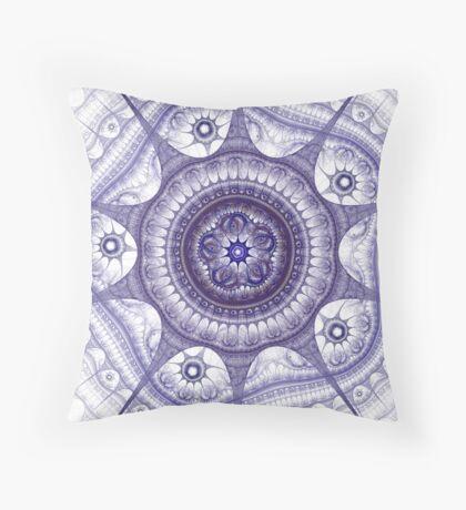 Fractal Design 6 Throw Pillow