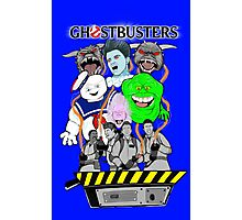 Ghostbusters villains collage Photographic Print