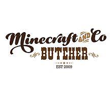 Minecraft & Co Butcher, Olde by Tee Brain Creative