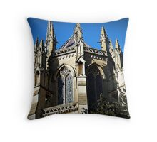 The Eastern end of this great Church Throw Pillow