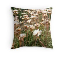 On the dunes of Brittany Throw Pillow