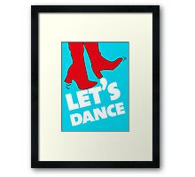 Let's dance Framed Print