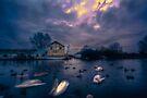 Boatyard by Nigel Bangert