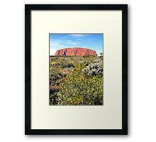 Ayres Rock / Uluru, Northern Territory, Australia Framed Print