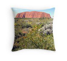Ayres Rock / Uluru, Northern Territory, Australia Throw Pillow