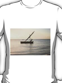 Dhow on the ocean T-Shirt