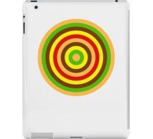 Burger dartboard iPad Case/Skin