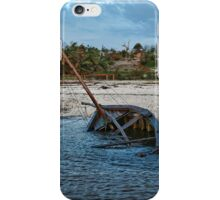 Sunken dhow iPhone Case/Skin