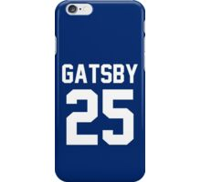 "Jay Gatsby ""25"" Jersey iPhone Case/Skin"