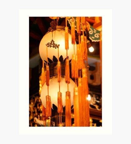 Lanterns Art Print