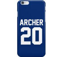 """Newland Archer """"20"""" Jersey iPhone Case/Skin"""