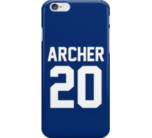 "Newland Archer ""20"" Jersey iPhone Case/Skin"