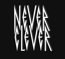 Never Clever Mens V-Neck T-Shirt