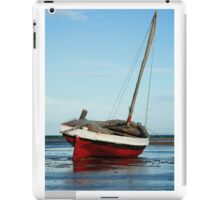 Dhow in the shallow water iPad Case/Skin
