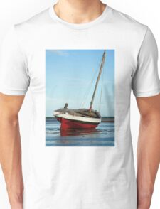 Dhow in the shallow water Unisex T-Shirt