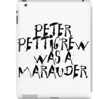 Peter Pettigrew iPad Case/Skin