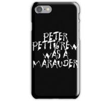 Peter Pettigrew 2. iPhone Case/Skin
