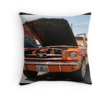 .. orange stanger banger .. Throw Pillow