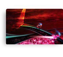 Stardust Speedway Canvas Print