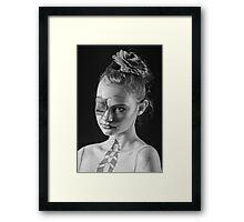 Joy - Bodypaint Framed Print