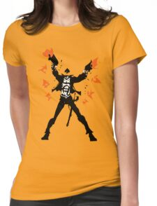 The Ace of Spades Womens Fitted T-Shirt