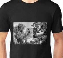 Medieval Citadel, Drobeta Turnu Severin in black & white Unisex T-Shirt