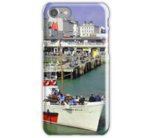 Yorkshire Belle Turning in Bridlington Harbour iPhone Case/Skin