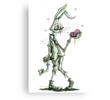 Bugs Zombunny (green) Canvas Print