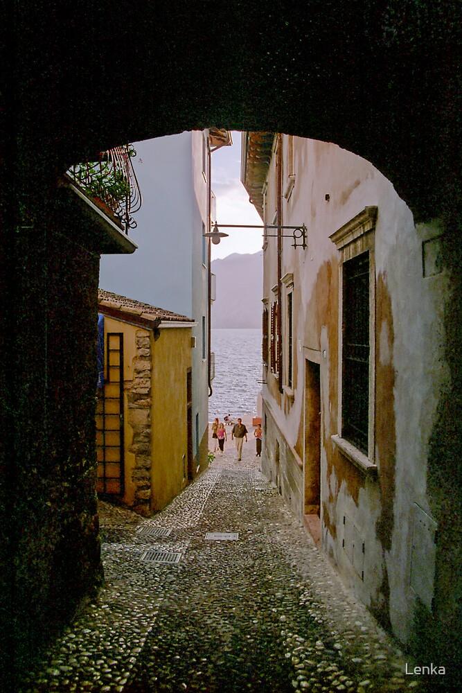 Malcesine (Lake Garda, Italy) by Lenka
