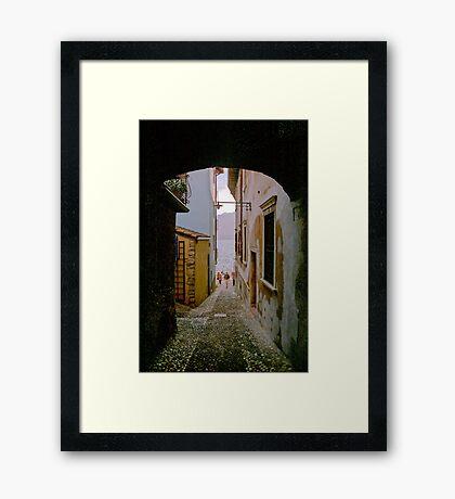 Malcesine (Lake Garda, Italy) Framed Print