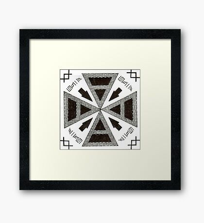30 Seconds To Mars Framed Print