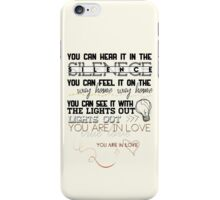"""""""You are in Love"""" iPhone Case/Skin"""