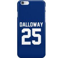 "Clarissa Dalloway ""25"" Jersey iPhone Case/Skin"