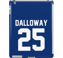"Clarissa Dalloway ""25"" Jersey iPad Case/Skin"