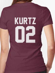 """Kurtz """"02"""" Jersey Womens Fitted T-Shirt"""