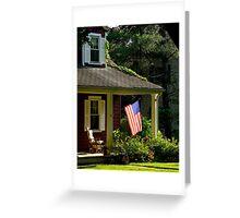 American Home Greeting Card