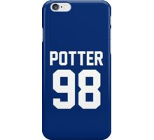 "Harry Potter ""98"" Jersey iPhone Case/Skin"