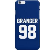 "Hermoine Granger ""98"" Jersey iPhone Case/Skin"