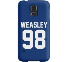 """Ron Weasley """"98"""" Jersey Samsung Galaxy Case/Skin"""