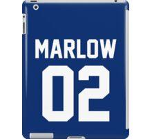 "Charlie Marlow ""02"" Jersey iPad Case/Skin"