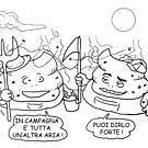 VITA E AVVENTURE DI PICCOLE MERDE - Aria di campagna by CLAUDIO COSTA