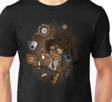 Moss's Happy Place (4 Colour Versh) Unisex T-Shirt