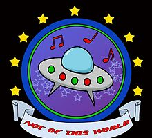 The Saucer Men - Not Of This World by Sharon K