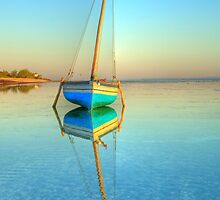 Surreal dhow in paradise by jacojvr